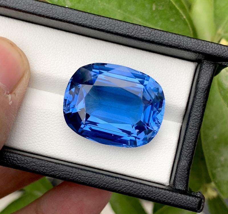 Santa Maria Color Aquamarine Gemstone - 36.80 Carats