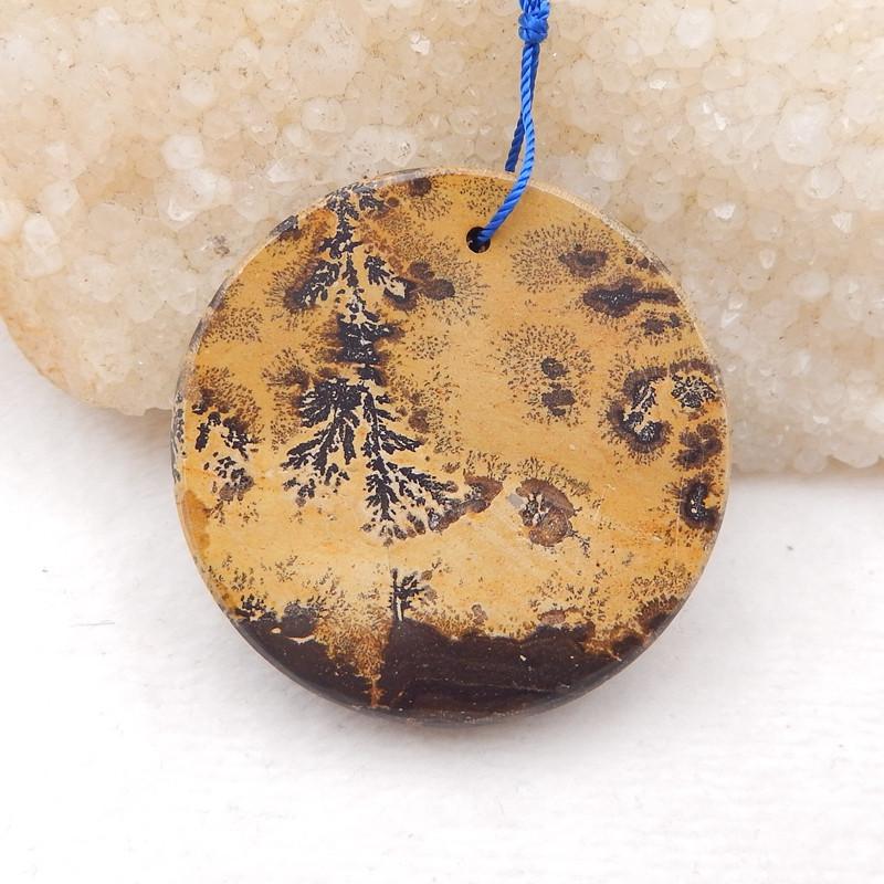 P0261 - 134.5 Cts Natural Chohua Jasper Round Bead Pendant Beads,Natural Ge