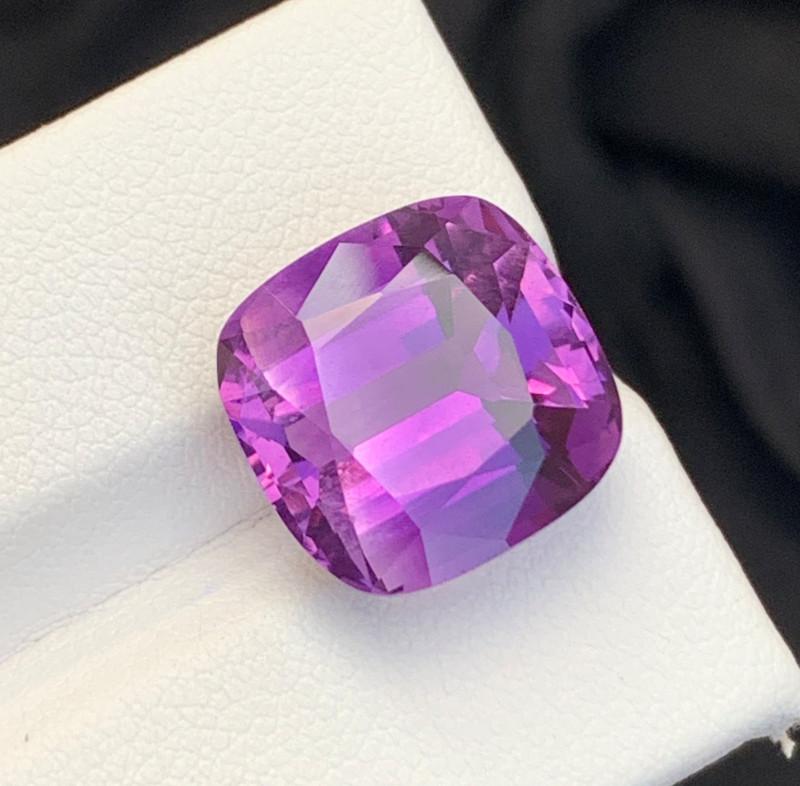 10.17 Carats fancy cut amethyst gemstone