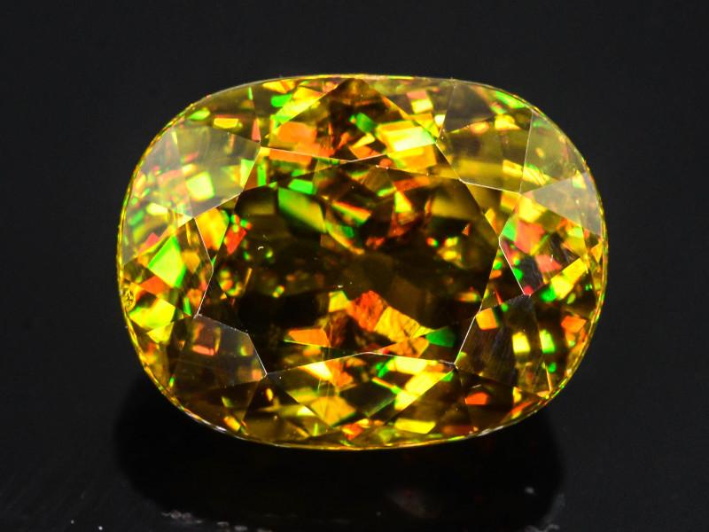 7500 $ ~ Presenting Exclusive 15.90 Ct Tanzania Mined Sphene