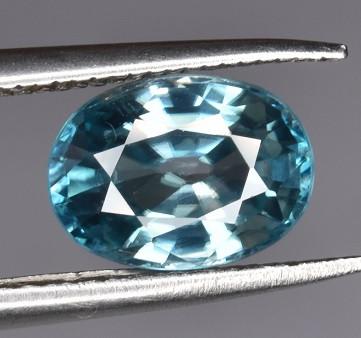 1.85 CTS Top Blue Zircon Gem
