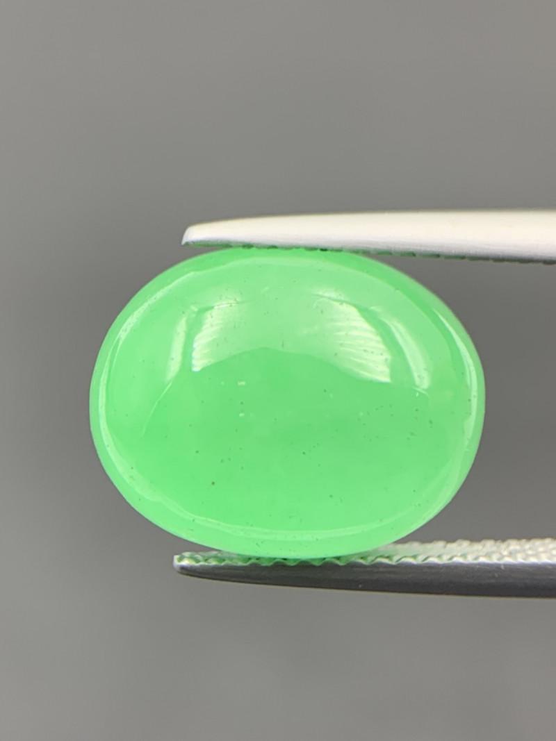 8.60 Cts Amazing Green Jade Cabochon. Jd-7310