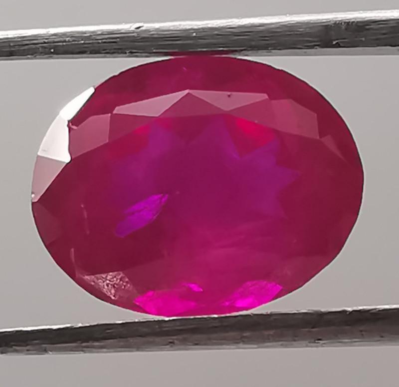 3.2ct Violet hue pink Garnet.