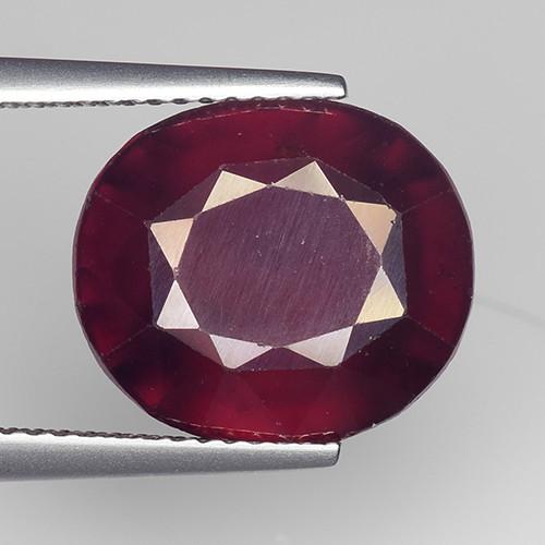 9.40Ct Natural Rare Hessonite Garnet Top Quality Gemstone. HG 22