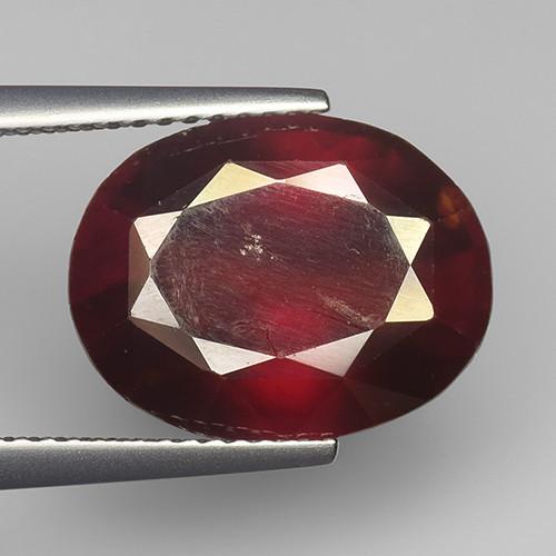 8.27Ct Natural Rare Hessonite Garnet Top Quality Gemstone. HG 34