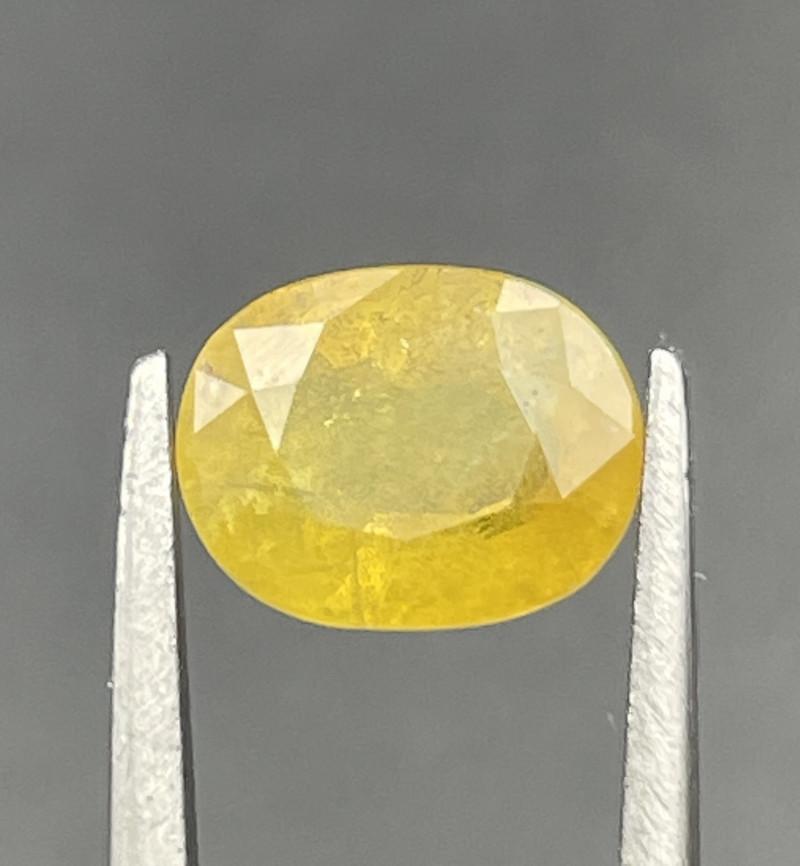 2.06 CT yellow Sapphire Gemstones