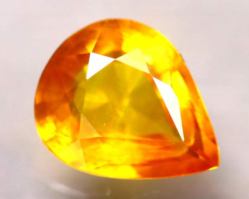 Fancy Sapphire 1.70Ct Natural Fancy Yellow Sapphire D3104/A16