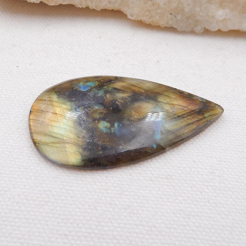 D1817 - 54cts Natural Labradorite Cabochon,Handmade Gemstone,Lucky Stone
