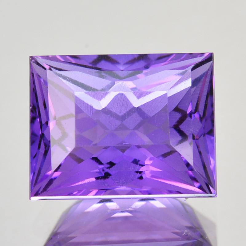 ~CUSTOM CUT~ 2.38 Cts Natural Purple Amethyst Fancy Bolivia