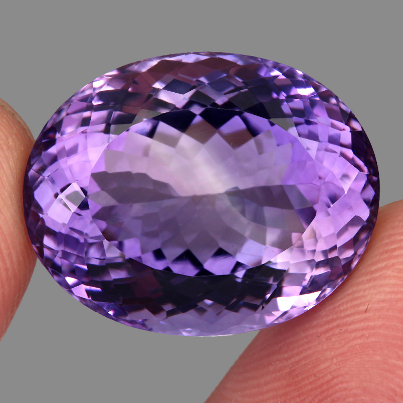 36.73 Ct. Top Quality 100% Natural Rich Purple Amethyst Uruguay Unheated
