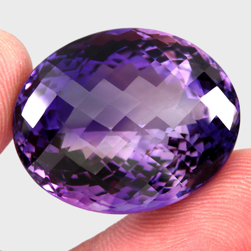60.35  ct Natural Earth Mined Top Quality Unheated Purple Amethyst,Uruguay