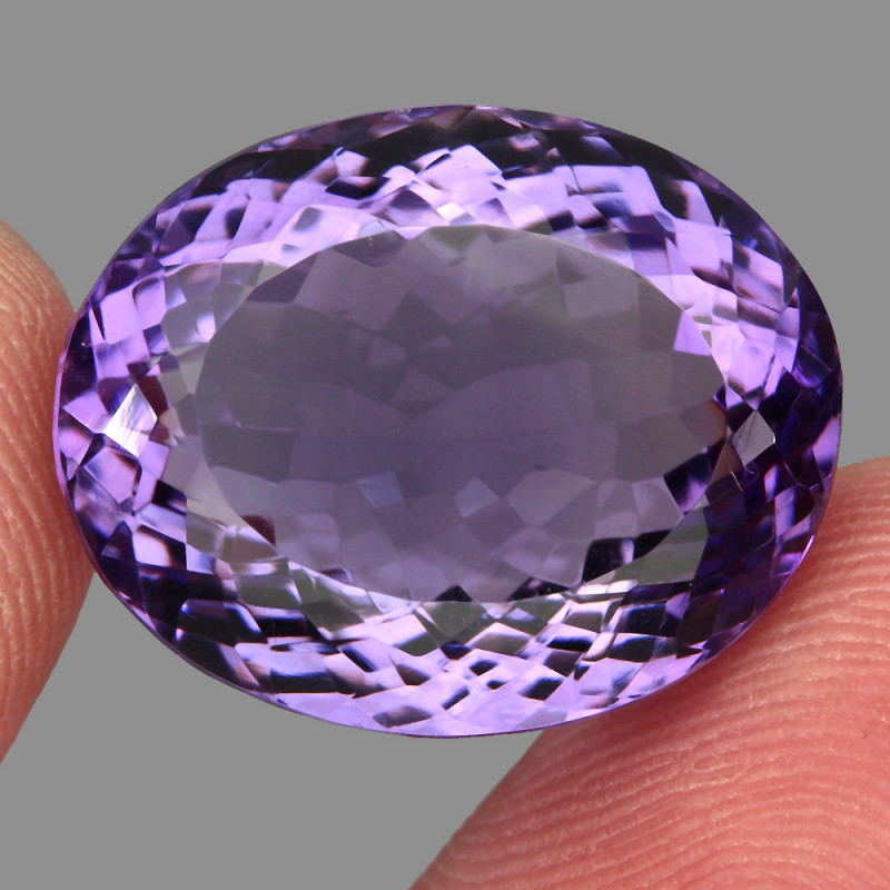 35.48  ct Natural Earth Mined Top Quality Unheated Purple Amethyst,Uruguay