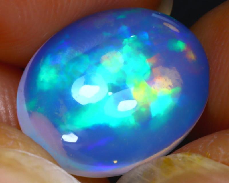 Welo Opal 3.70Ct Natural Ethiopian Play of Color Opal E0330/A57