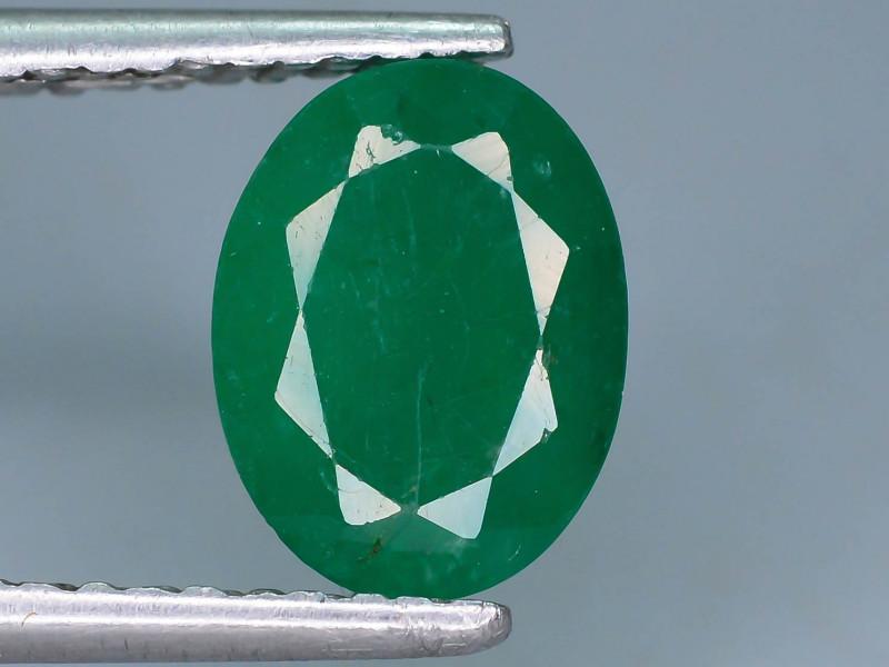 Top Quality 1.55 ct Zambian Emerald Vivid Green Color