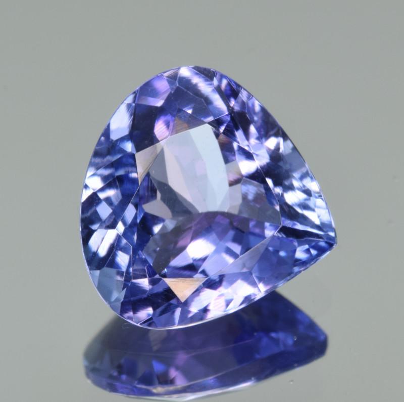 Natural Tanzanite 4.03  Cts Top Grade  Faceted Gemstone