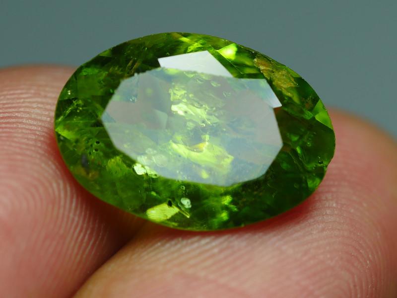 7.080CRT BEAUTY GREEN PERIDOT -