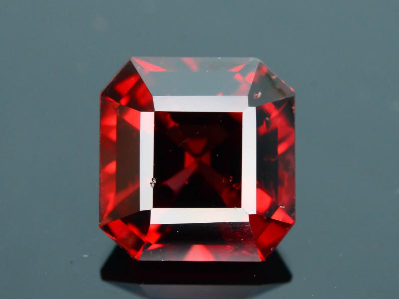 Top Grade 3.15 ct Fancy Cut Red Garnet