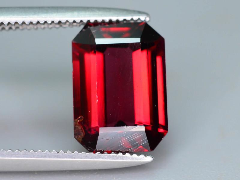 Top Grade 2.70 ct Fancy Cut Red Garnet