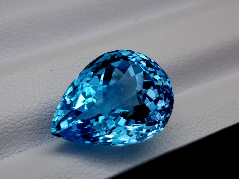 12Crt Blue Topaz Natural Gemstones JI59