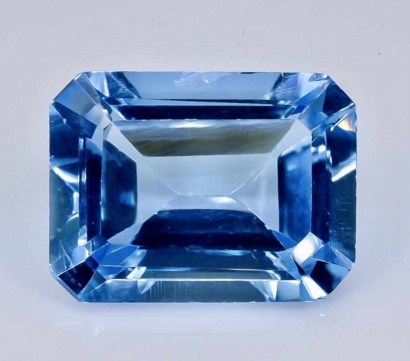 12.60 Crt Topaz Faceted Gemstone (Rk-23)
