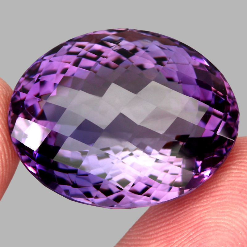 65.33  ct Natural Earth Mined Top Quality Unheated Purple Amethyst,Uruguay
