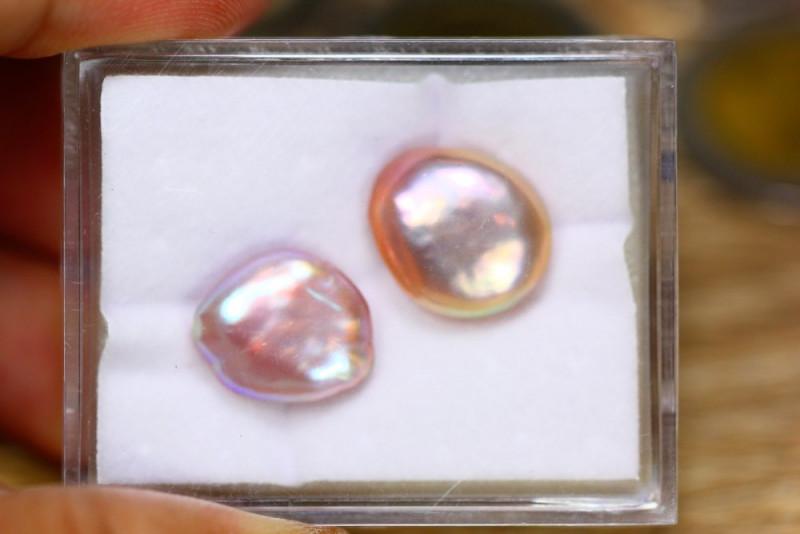 18.82ct Natural Australia South Sea Keshi Pearl Freeform Pearl Lot GW8853