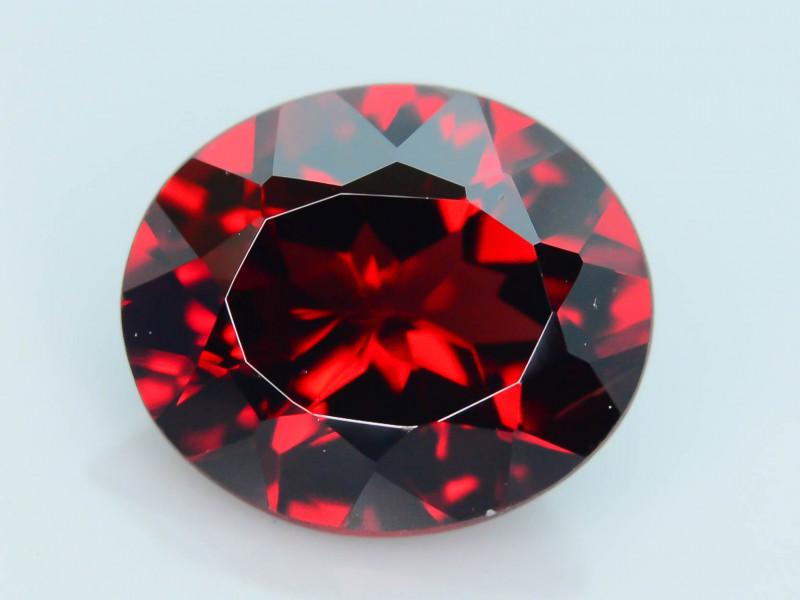 Top Grade 2.85 ct Fancy Cut Red Garnet