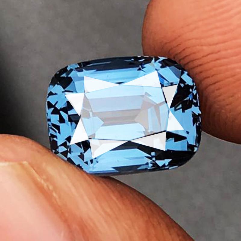 5.99 CT SPINEL COBALT BLUE 100% NATURAL UNHEATED SRI LANKA