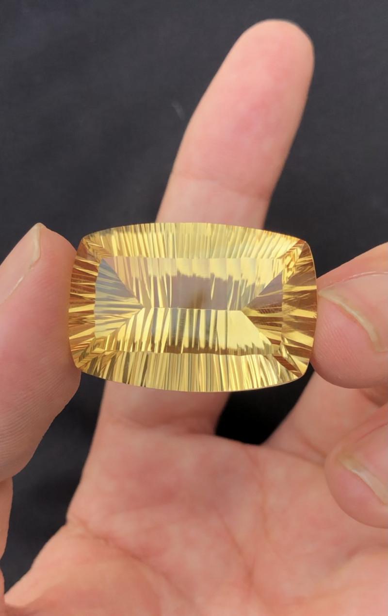 57.50ct Beautiful  Natural Laser Cut Citrine Gemstone