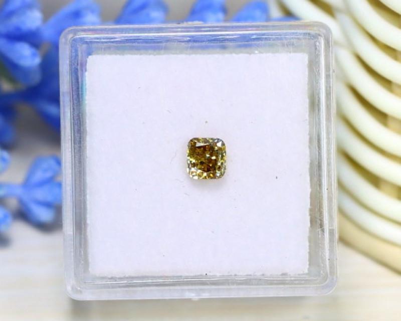 Yellow Diamond 0.47Ct NaturalUntreated Genuine Fancy Diamond A0850