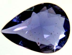 IOLITE NATURAL FACETED 0.45 CTS  TBG-1960