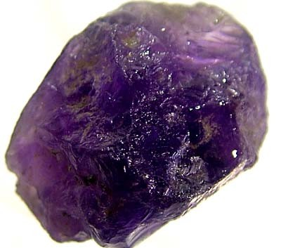 NATURAL AMETHYST ROUGH BEAD 27 CTS TBG-1786