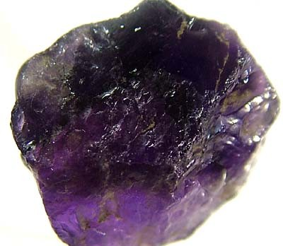 NATURAL AMETHYST ROUGH BEAD 24 CTS TBG-1799