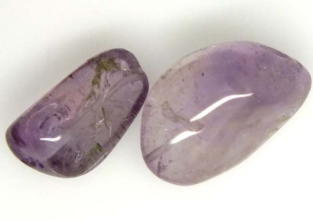 AMETHYST BEAD NATURAL 2 PCS 18.5 CTS  NP-1535