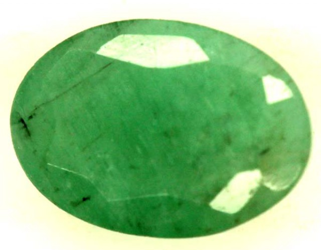 FACETED  EMERALD 0.80CTS ADG-687