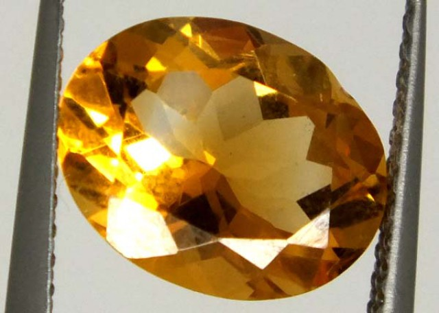 CITRINE FACETED NATURAL STONE 2.25 CTS  TBG-1689