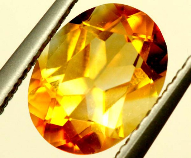 CITRINE NATURAL  FACETED HIGH CLARITY  1.15CTS ADG-771