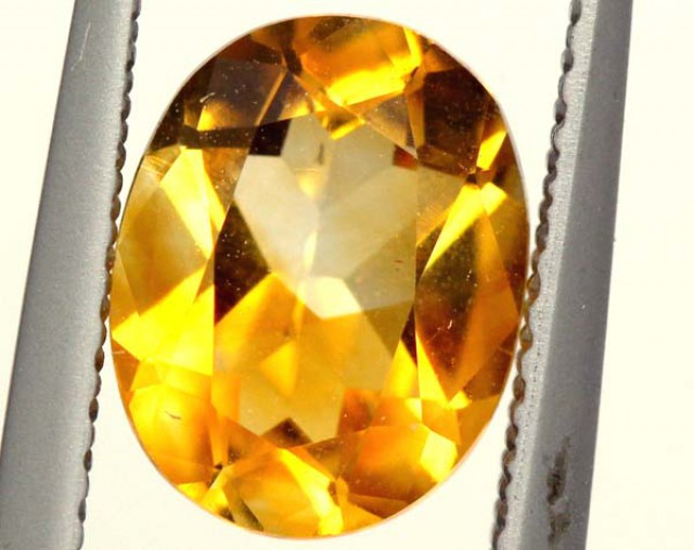 CITRINE NATURAL  FACETED HIGH CLARITY  1.6CTS ADG-602