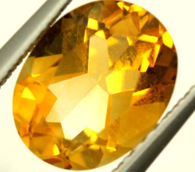 CITRINE NATURAL  FACETED HIGH CLARITY  1.7CTS ADG-659