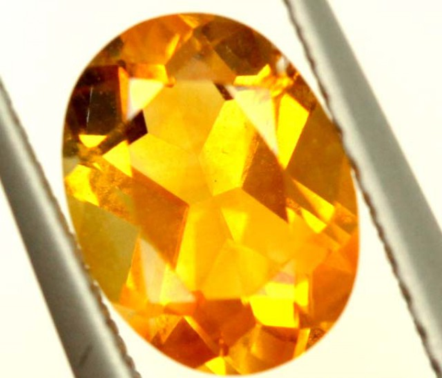 CITRINE NATURAL  FACETED HIGH CLARITY  1.10CTS ADG-651
