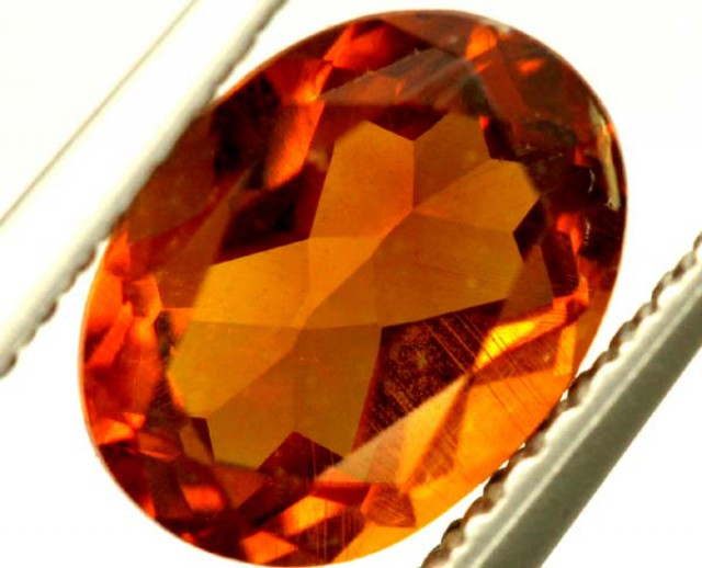 CITRINE NATURAL  FACETED HIGH CLARITY  1.20CTS ADG-618