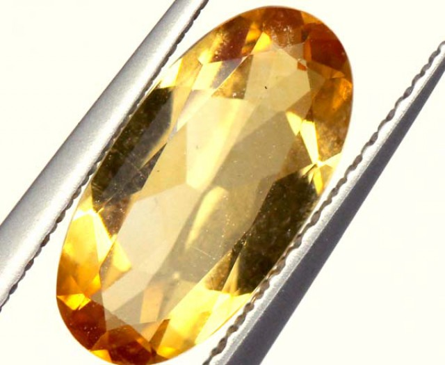 CITRINE NATURAL  FACETED HIGH CLARITY  1.7CTS ADG-611