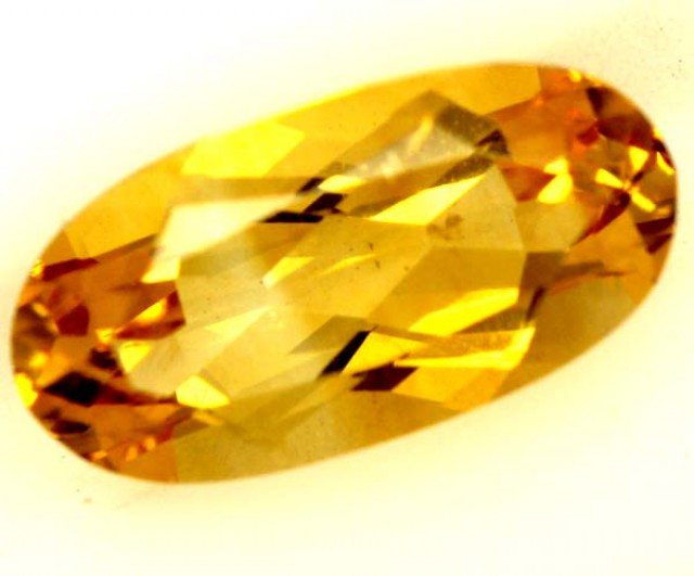 CITRINE NATURAL  FACETED HIGH CLARITY  1.9CTS ADG-616