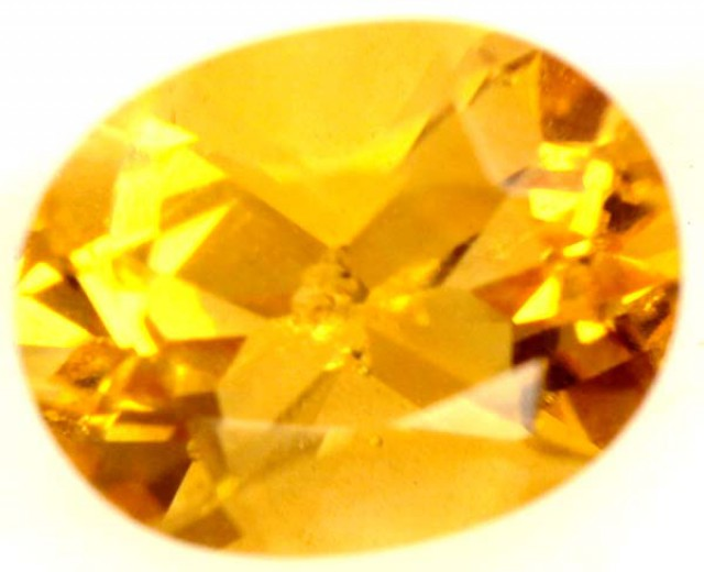 CITRINE NATURAL  FACETED WITH INCLUSION   1.75CTS ADG-617