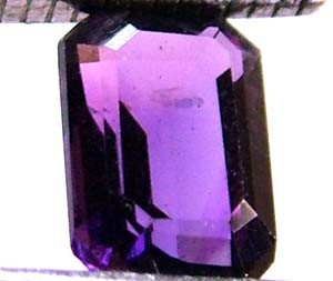 AMETHYST FACETED STONE 0.85 CTS  CG-1030