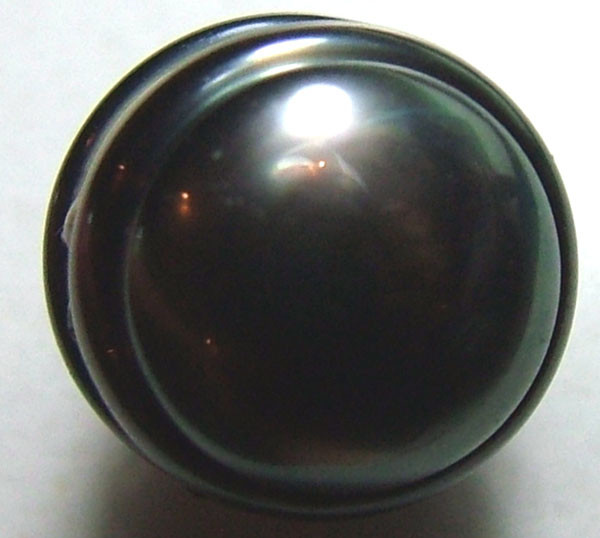 BLACK TAHITIAN CULTURED PEARL 6.7CTS ADG-813