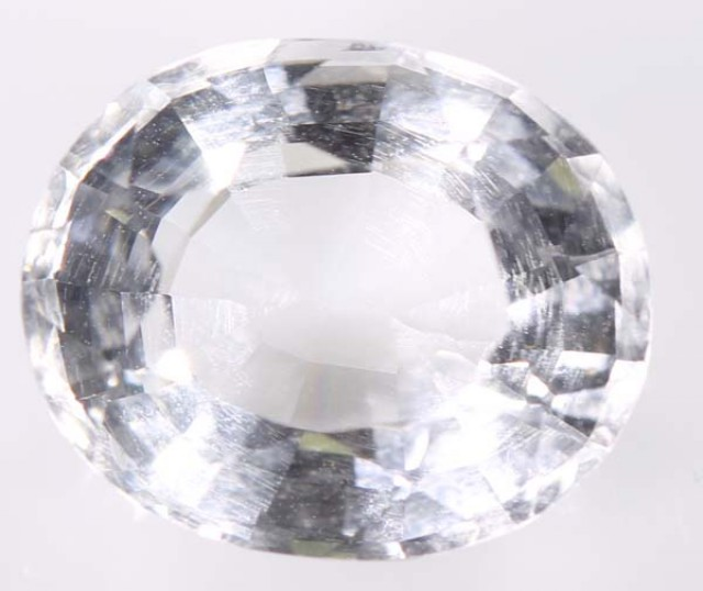 CLEAR QUARTZ  FACETED 5.30CTS ADG-839