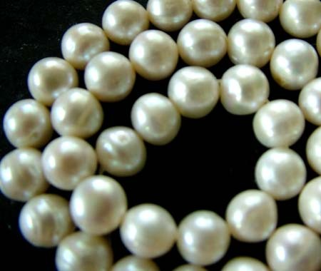 FRESH WATER PEARL STRAND-ROUNDS   9  MM  260.45 CTS [PF804]