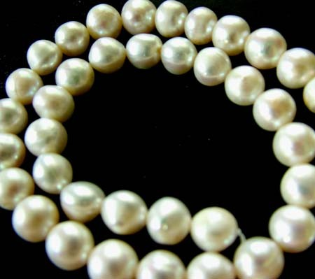 FRESH WATER PEARL STRAND-ROUNDS   9  MM 267.90 CTS [PF 807]