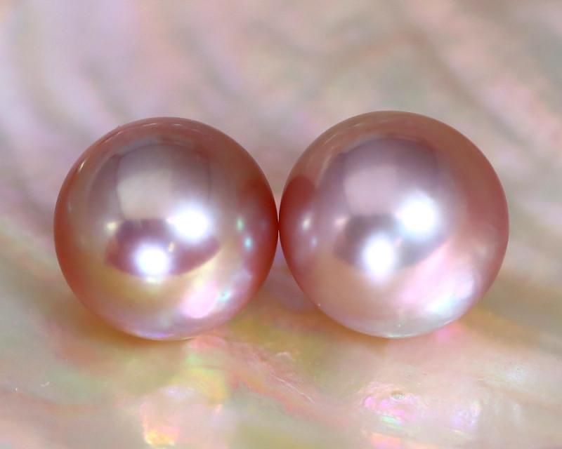 8.2mm 8.07Ct Natural Australian South Sea Purple Color Pearl C1005